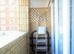 Balcony post
